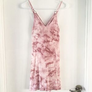 💗AMERICAN EAGLE TIE DYE SPAGHETTI STRAP DRESS
